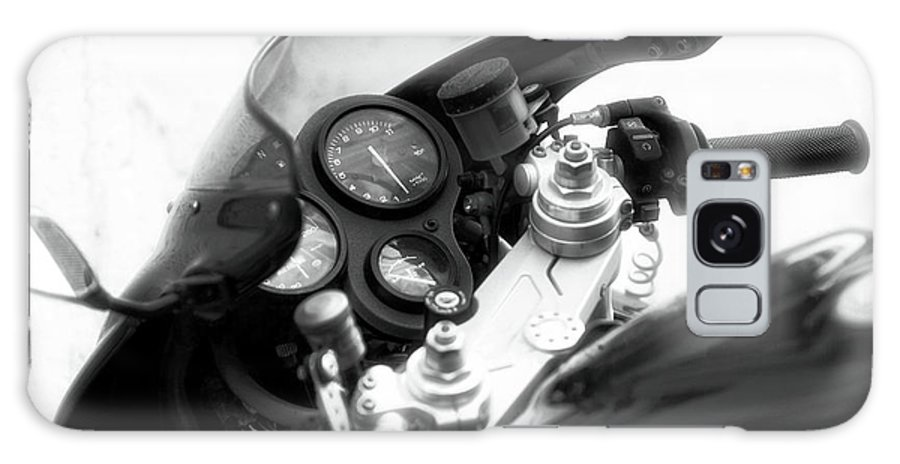 Ducati Control Galaxy S8 Case featuring the photograph Ducati Control by John Rizzuto