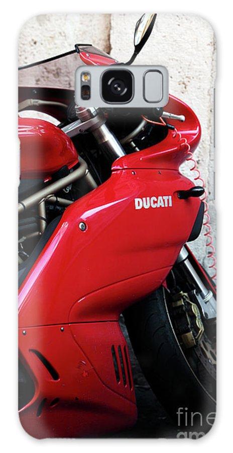 Ducati Galaxy S8 Case featuring the photograph Ducati by John Rizzuto