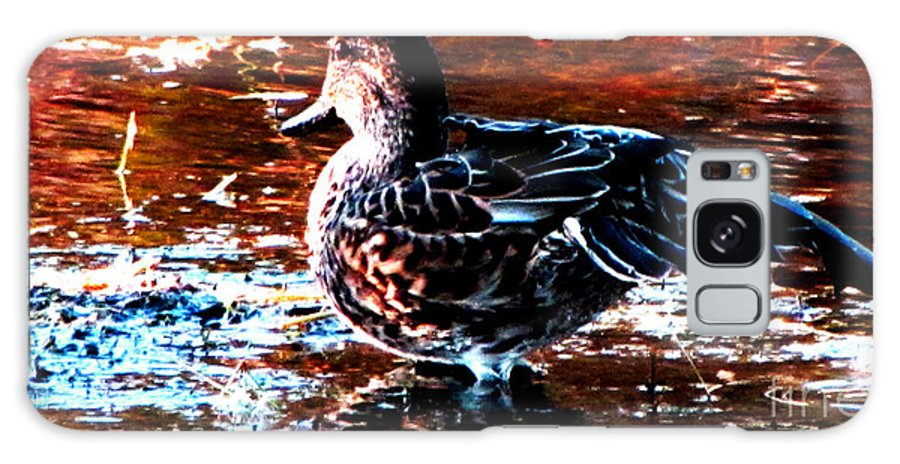 Ron Tackett Galaxy S8 Case featuring the photograph Duck by Ron Tackett