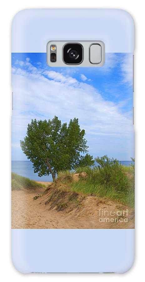 Dune Galaxy S8 Case featuring the photograph Dune - Indiana Lakeshore by Ann Horn