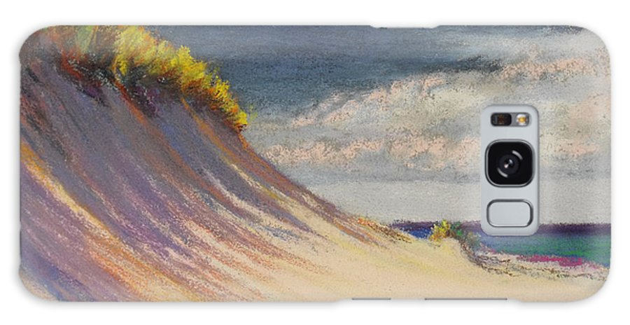 Galaxy S8 Case featuring the pastel Dune Crest by Catherine Haynes
