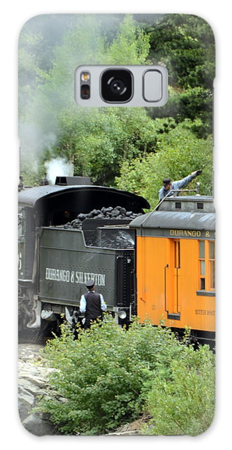 Trains Galaxy S8 Case featuring the photograph Durango To Silverton by Dave Wangsness