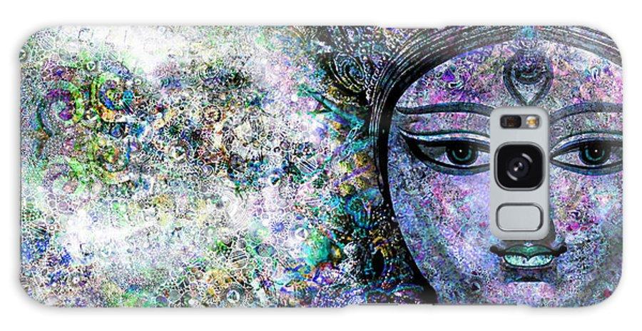 Durga Galaxy S8 Case featuring the digital art Durga by D Walton