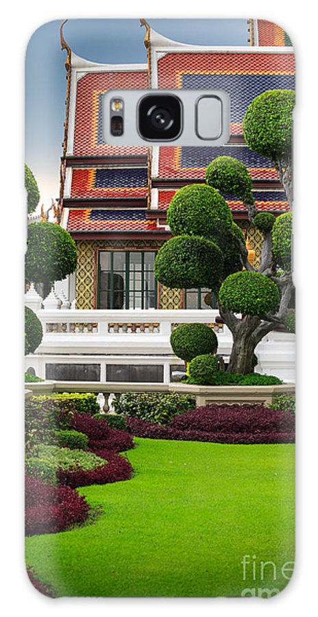 Asia Galaxy S8 Case featuring the photograph Dusita Phirom Hall by Inge Johnsson