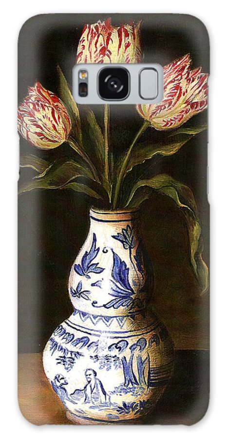 Dutch Still Life Galaxy S8 Case featuring the painting Dutch Still Life by Teresa Carter