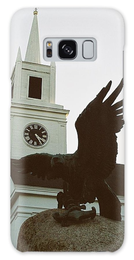 Church Galaxy S8 Case featuring the photograph Eagle And Church by Mark Kastelein
