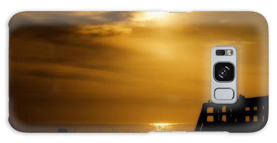 Beach Galaxy S8 Case featuring the photograph Early Beach Walk by Jim Finch