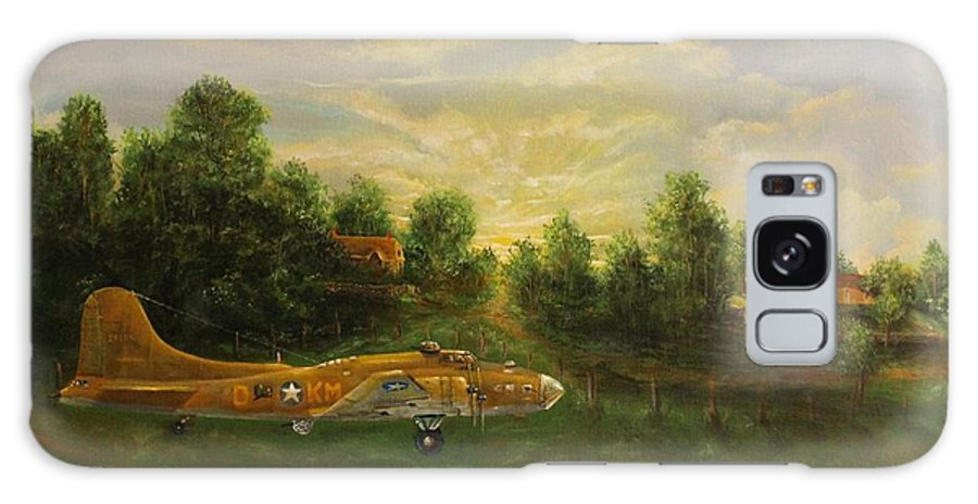 B-17 Galaxy S8 Case featuring the painting Early Departure by Robert Wright