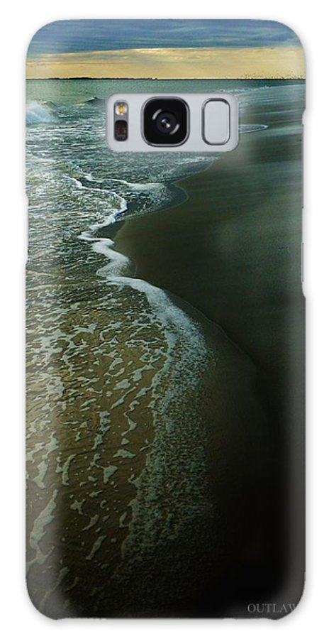 Ocean Galaxy S8 Case featuring the photograph Early Evening Surf by Holly Dwyer
