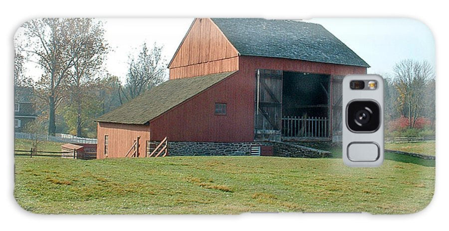 Barn Galaxy S8 Case featuring the photograph Early Morning Barn by David Nichols