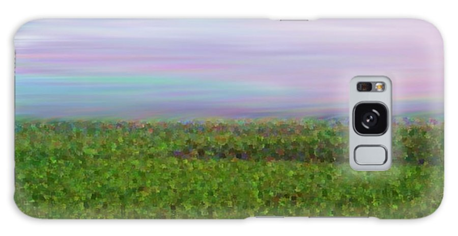 Sky Morning Field Silence Wind Galaxy S8 Case featuring the digital art Early Morning. Field by Dr Loifer Vladimir