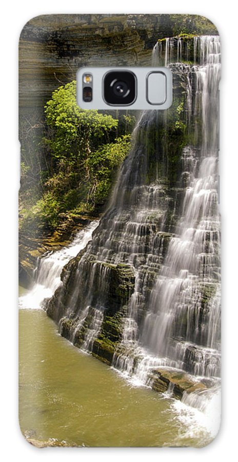 Burgess Falls State Park Galaxy S8 Case featuring the photograph Early Spring by Bob Phillips