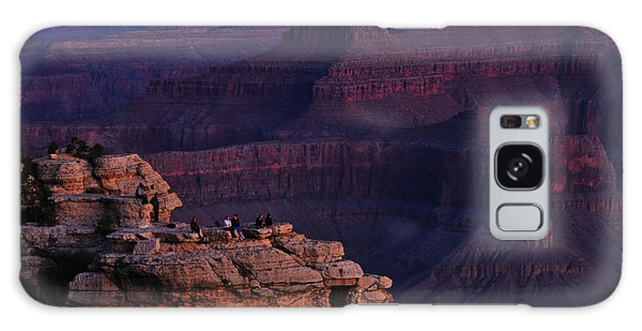 Canyon Galaxy S8 Case featuring the photograph Early To Rise by Gene Sherrill