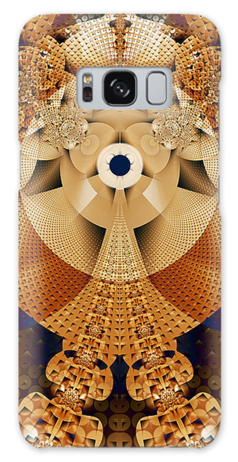 Earth Galaxy Case featuring the digital art Earth Mosaic by Frederic Durville