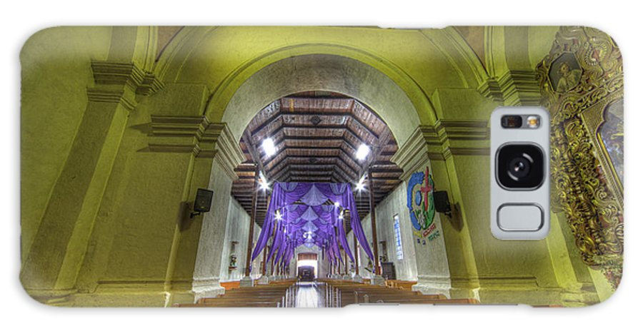 Church Galaxy S8 Case featuring the photograph Easter Decorations At An Old Church by Krzysztof Hanusiak