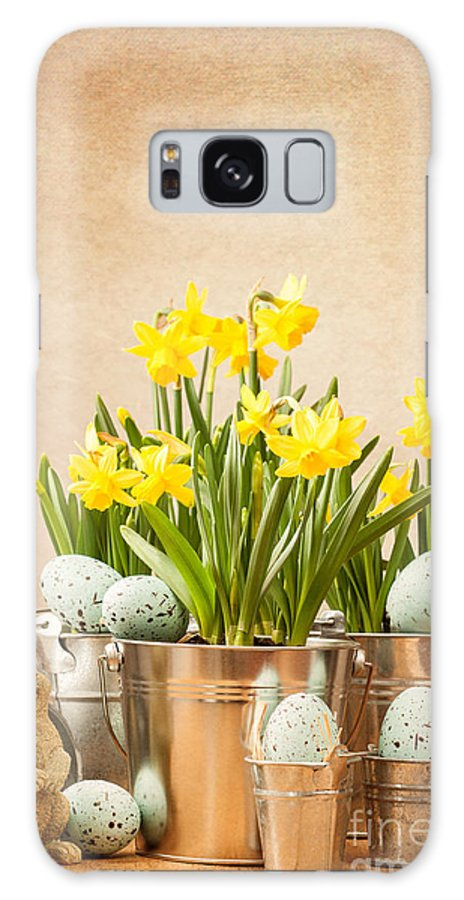 Spring Galaxy S8 Case featuring the photograph Easter Setting by Amanda Elwell