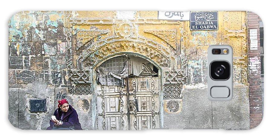 Egyptian Galaxy S8 Case featuring the photograph Egyptian Woman by Sean Rathbun