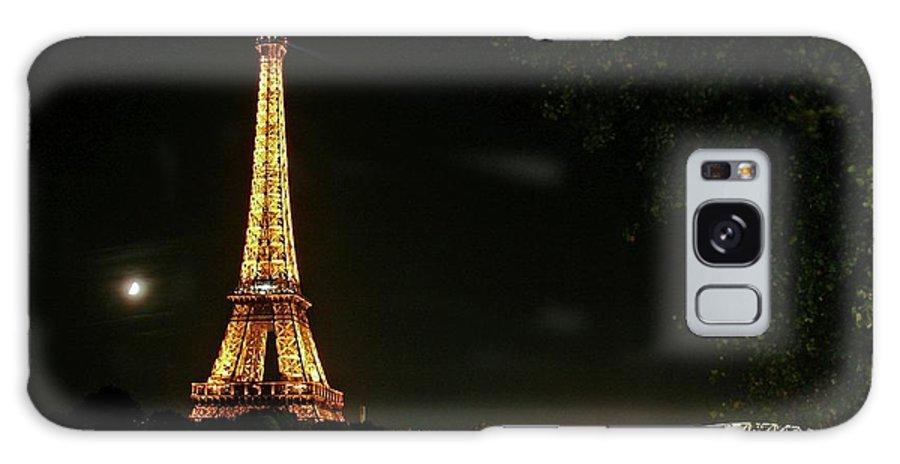 Eiffel Tower At Night Galaxy S8 Case