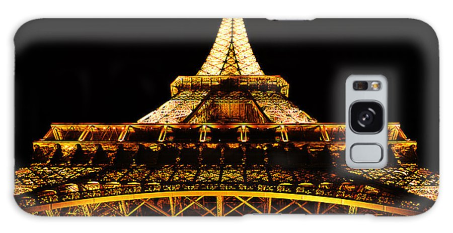 Europe Galaxy S8 Case featuring the photograph Eiffel Tower By Night by Ryan Wyckoff