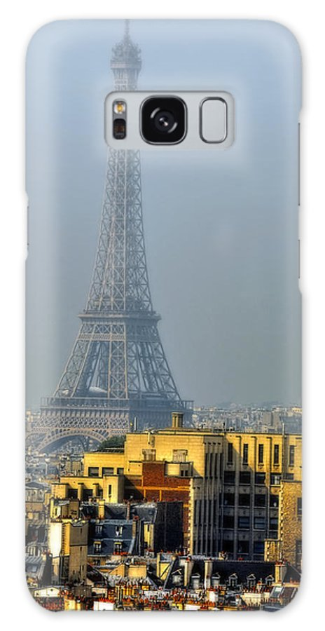 Eiffel Tower From Notre-dame Photographs Galaxy S8 Case featuring the photograph Eiffel Tower From Notre Dame by Vladimir Rayzman