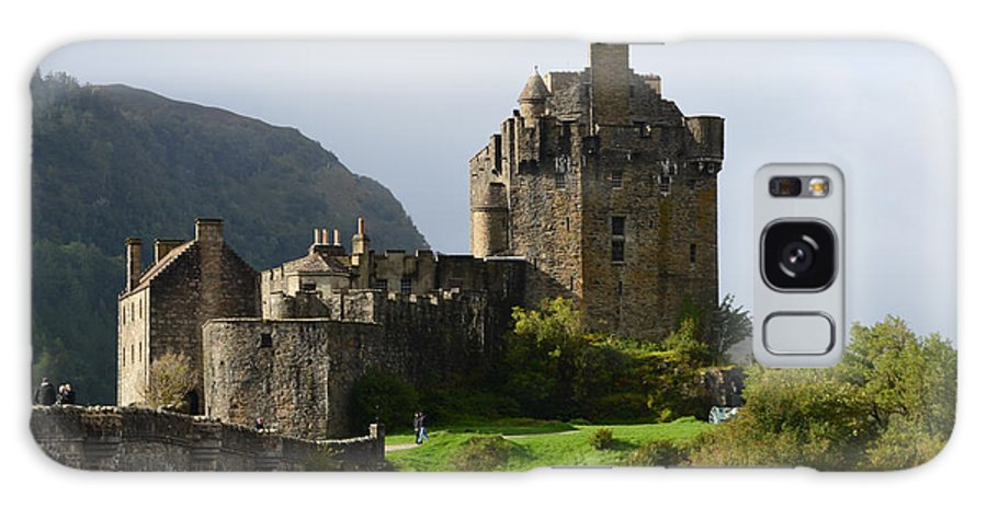 Eilean Donan Galaxy S8 Case featuring the photograph Eilean Donan Castle In Kyle Of Lochalsh by DejaVu Designs