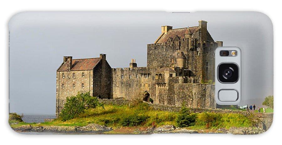 Eilean Donan Galaxy S8 Case featuring the photograph Eilean Donan Castle In Scotland by DejaVu Designs
