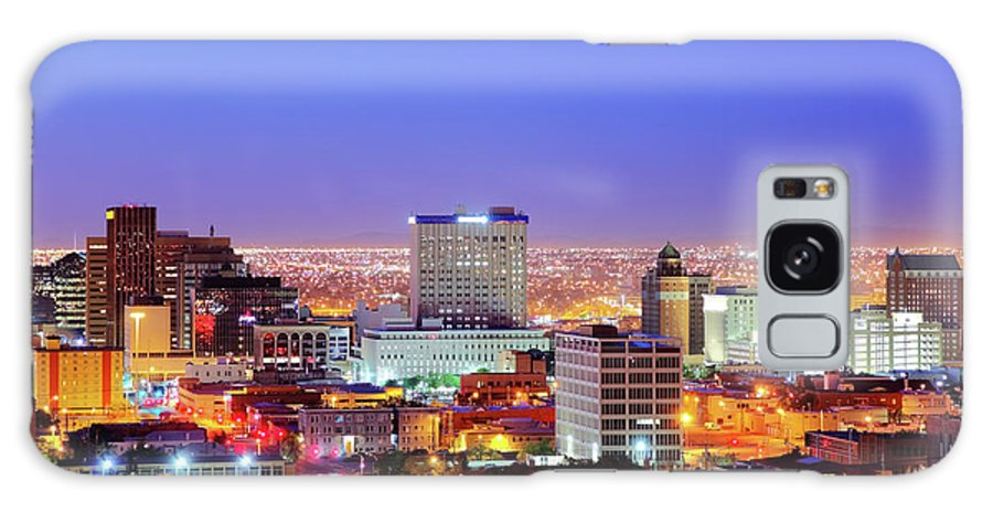 Downtown District Galaxy Case featuring the photograph El Paso by Denistangneyjr