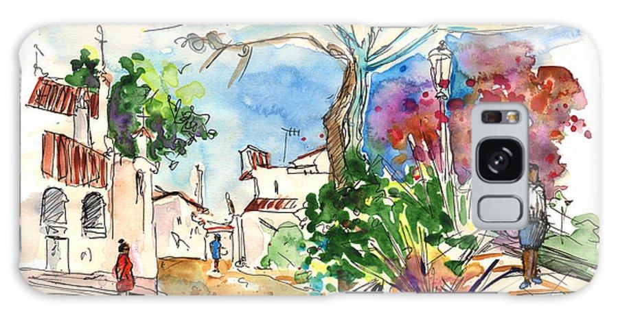 Travel Galaxy S8 Case featuring the painting El Rocio 07 by Miki De Goodaboom