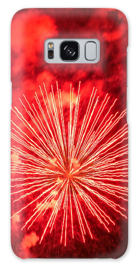 Photo Galaxy S8 Case featuring the photograph Electrifying by Colleen Coccia