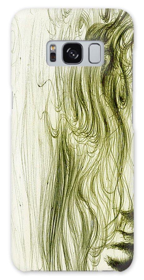 Adolescent Galaxy S8 Case featuring the digital art Ella En Primavera by Ruben Santos