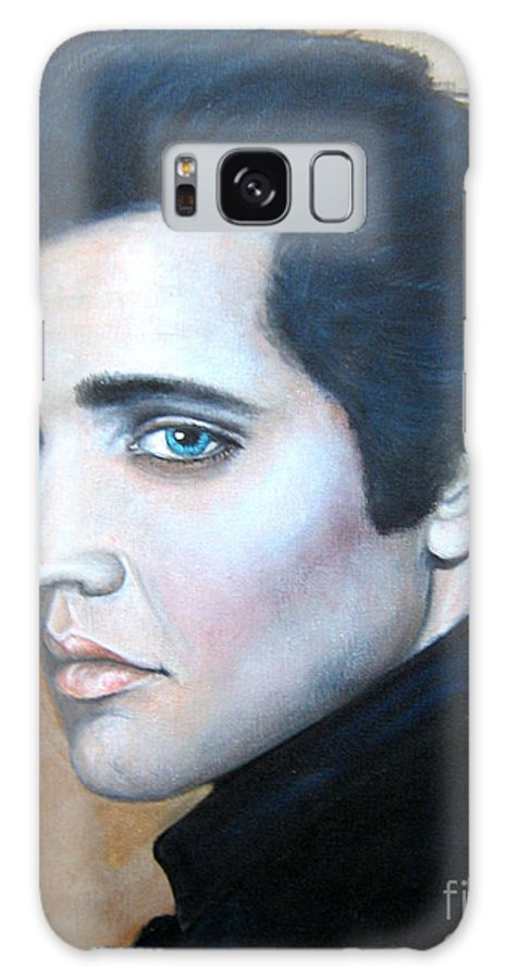 Elvis Galaxy S8 Case featuring the painting Elvis by Patrice Torrillo