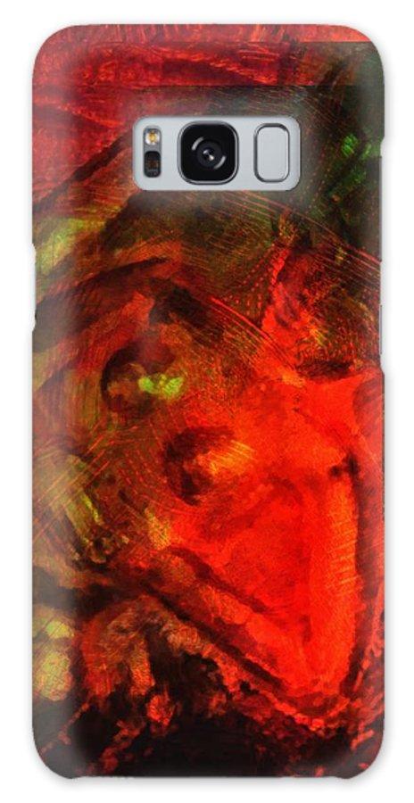 Man Galaxy S8 Case featuring the digital art Embrace by Gun Legler