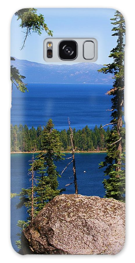 Lake Tahoe Galaxy S8 Case featuring the photograph Emerald Bay -lake Tahoe by Russell Barton