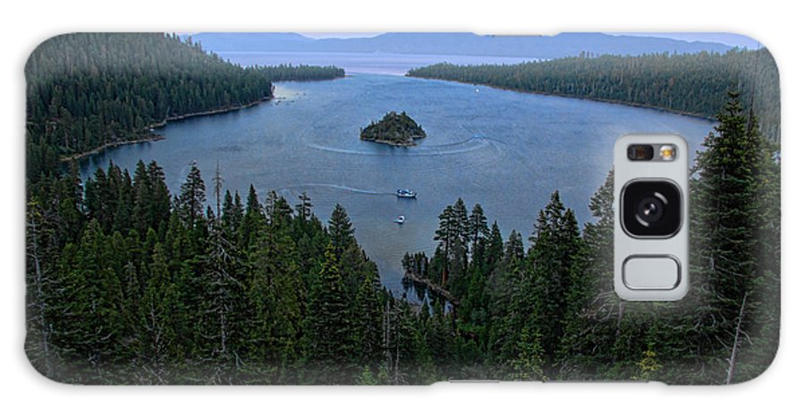 Randy Wehner Galaxy S8 Case featuring the photograph Emerald Bay Sunset by Randy Wehner Photography