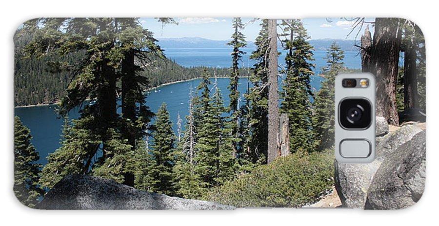 Emerald Bay Galaxy S8 Case featuring the photograph Emerald Bay Vista by Carol Groenen