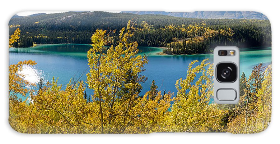 Adventure Galaxy S8 Case featuring the photograph Emerald Lake At Carcross Yukon Territory Canada by Stephan Pietzko