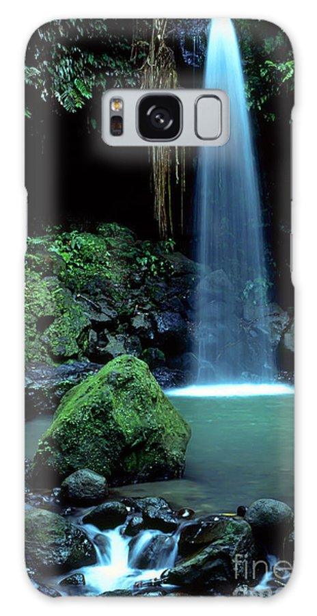 Dominica Galaxy S8 Case featuring the photograph Emerald Pool by Thomas R Fletcher