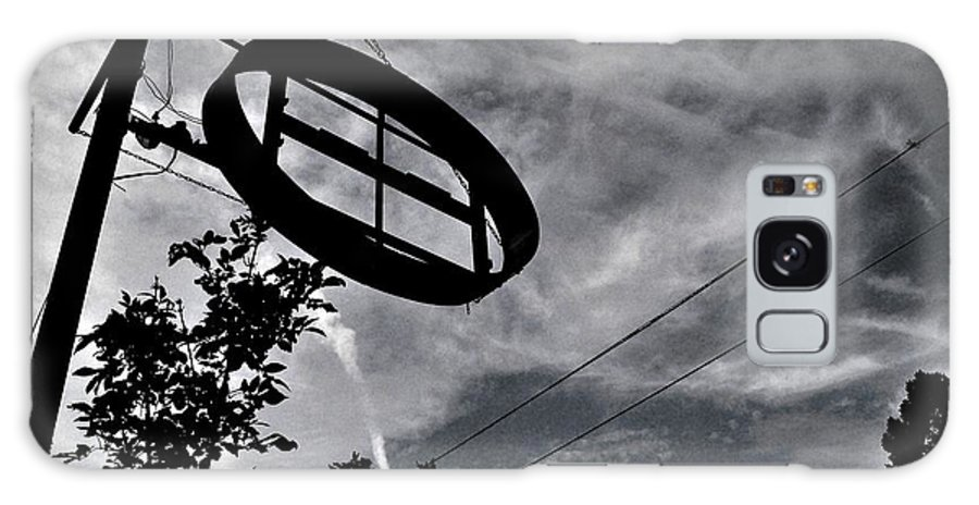 Urban Abandoned Sign Street Galaxy S8 Case featuring the photograph Empty by Dave Stroncek