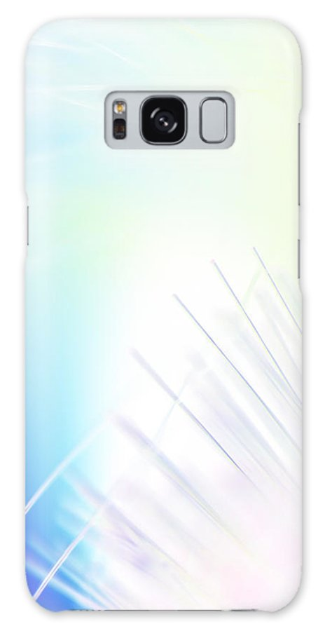 Abstract Galaxy S8 Case featuring the photograph Empty Spaces by Dazzle Zazz