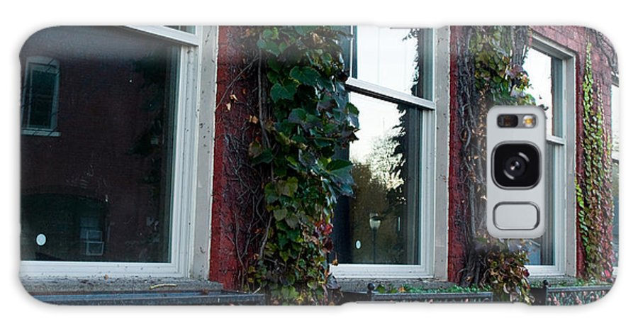 Building Galaxy S8 Case featuring the photograph Empty Windows by Tara Lynn