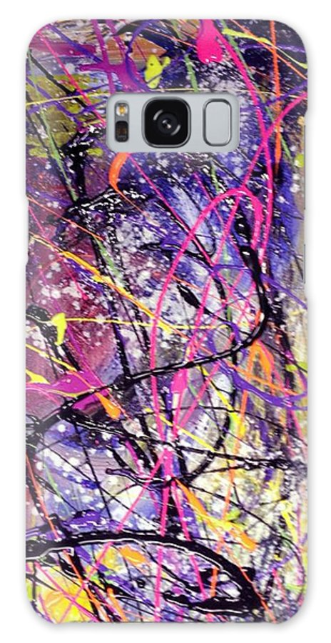 The End Galaxy S8 Case featuring the painting End Of Nothing by Patti Shonek