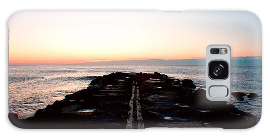 Atlantic Ocean Galaxy S8 Case featuring the photograph End Of The Road by Jon Emery