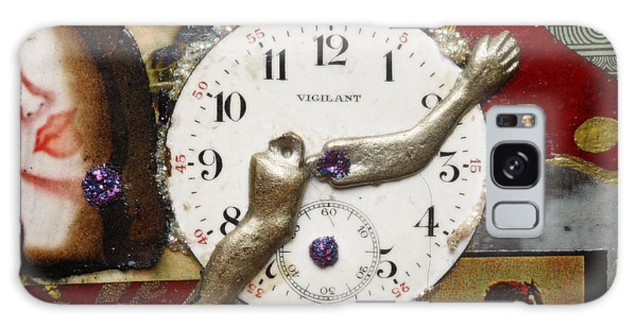 Mixed Media Galaxy S8 Case featuring the digital art Endless Time by Sherry Dooley