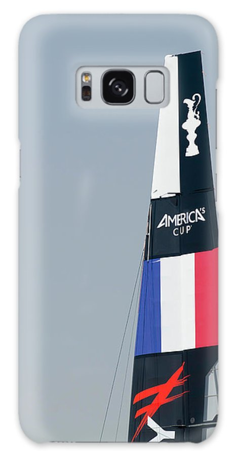 Ac45 Galaxy S8 Case featuring the photograph Energy Team Sail by Lorenzo Tonello