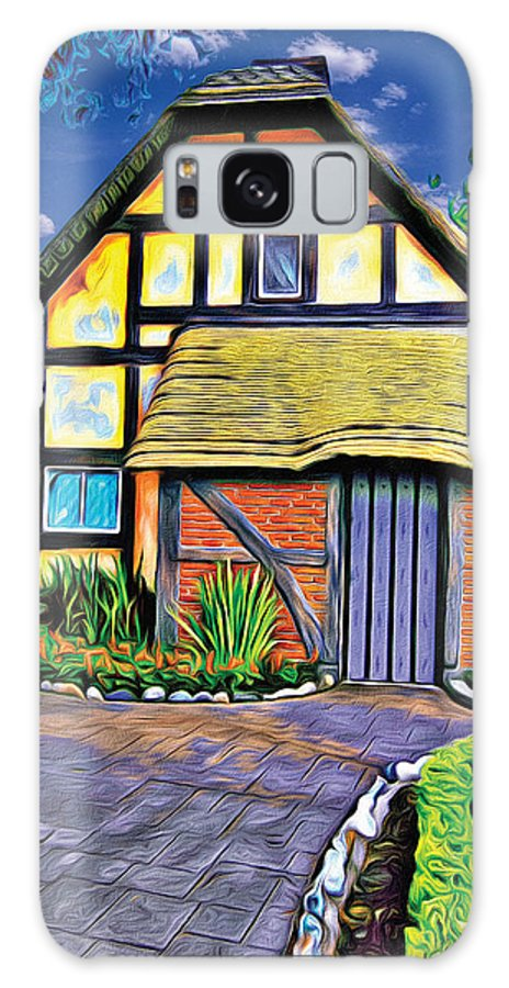 English House Galaxy S8 Case featuring the photograph English House by Carlos Diaz