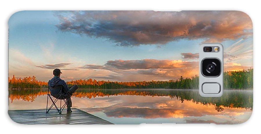 Autumn Galaxy S8 Case featuring the photograph Enjoying Little Things by Nebojsa Novakovic