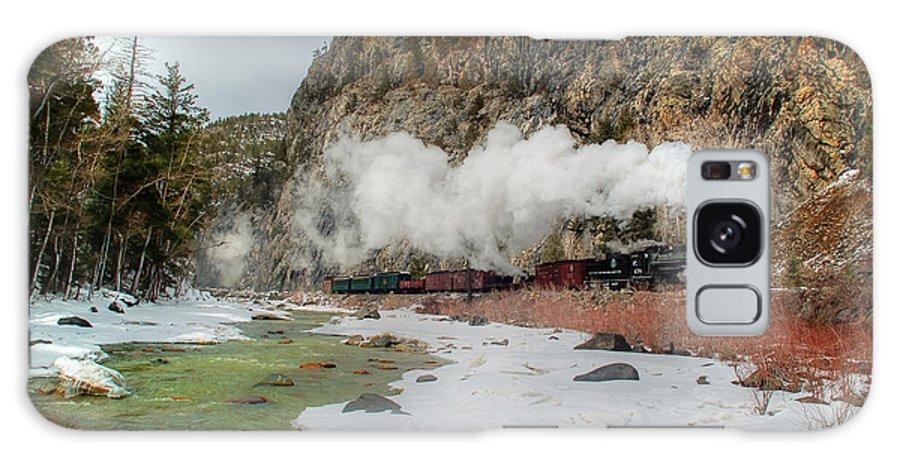Steam Train Galaxy S8 Case featuring the photograph Entering Cascade Canyon by Ken Smith