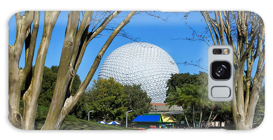Epcot Globe Galaxy S8 Case featuring the photograph Epcot Globe Walt Disney World by Thomas Woolworth