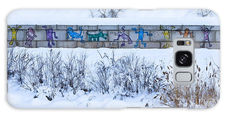 Graffiti Galaxy S8 Case featuring the photograph Erie Canal Graffiti by Roger Bailey