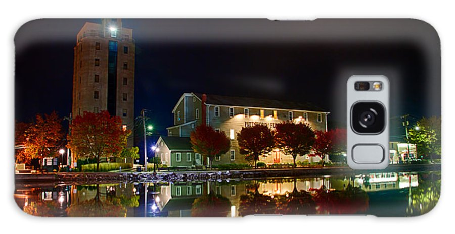 Erie Canal Canvas Prints Galaxy S8 Case featuring the photograph Erie Canal In Pittsford Ny by Steve Clough